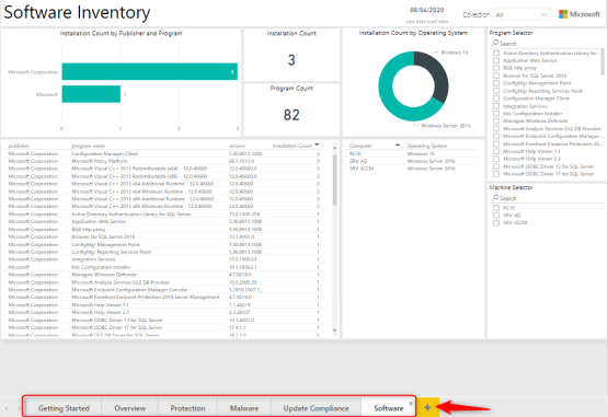 Create power bi report