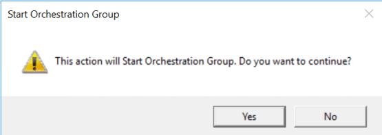 Start Orchestration