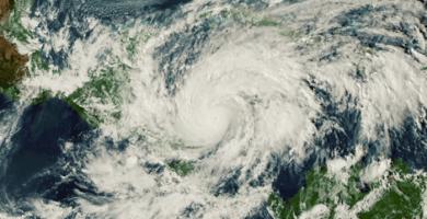 Tormenta tropical theta se puede convertir en huracán