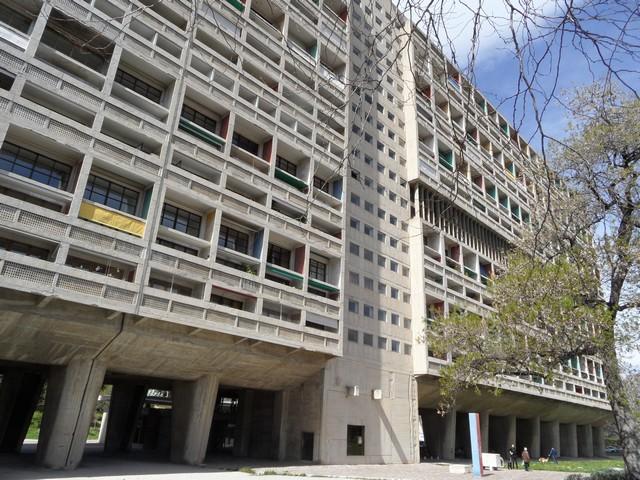 Marseille Cité radieuse Le Corbusier