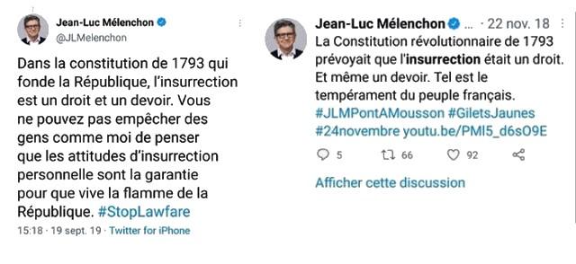 Jean-Luc Mélenchon - Insurrection