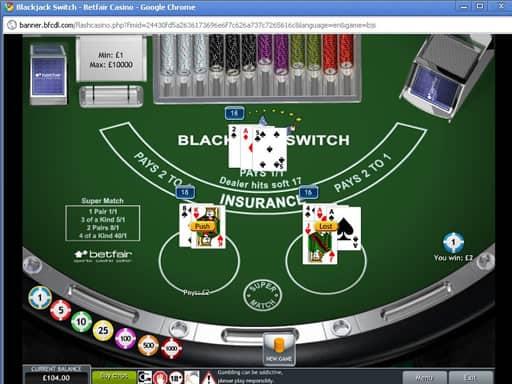 オンラインカジノのブラックジャックについて