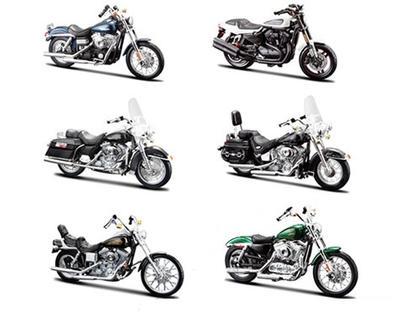 Ensemble Harley-Davidson Series 32 (Inclus 6 motos)