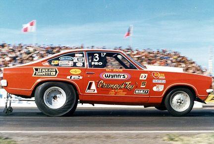 Chevrolet Vega 1972 Pro Stock Bill Grumpy Jenkins