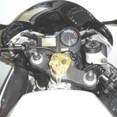 Front Wheel Drive Suspension Diagram Strat Wiring Master Tone Honda Cbr 929rr 2000-2001 Convertibars Handlebar Riser System