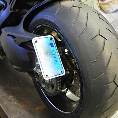 Ducati Diavel Two Position Fender Eliminator Kit Side Mount