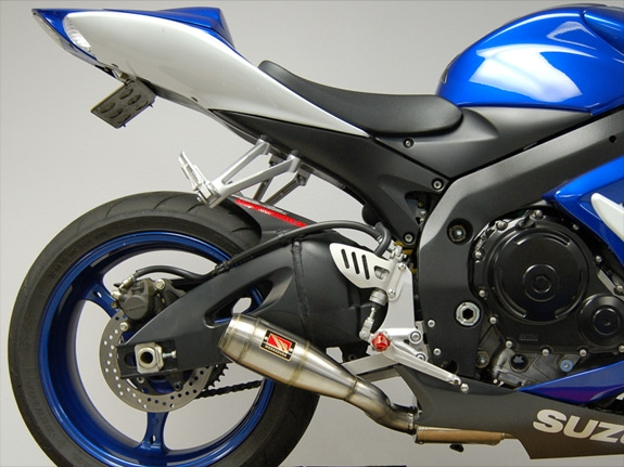2007 suzuki gsxr 750 full exhaust