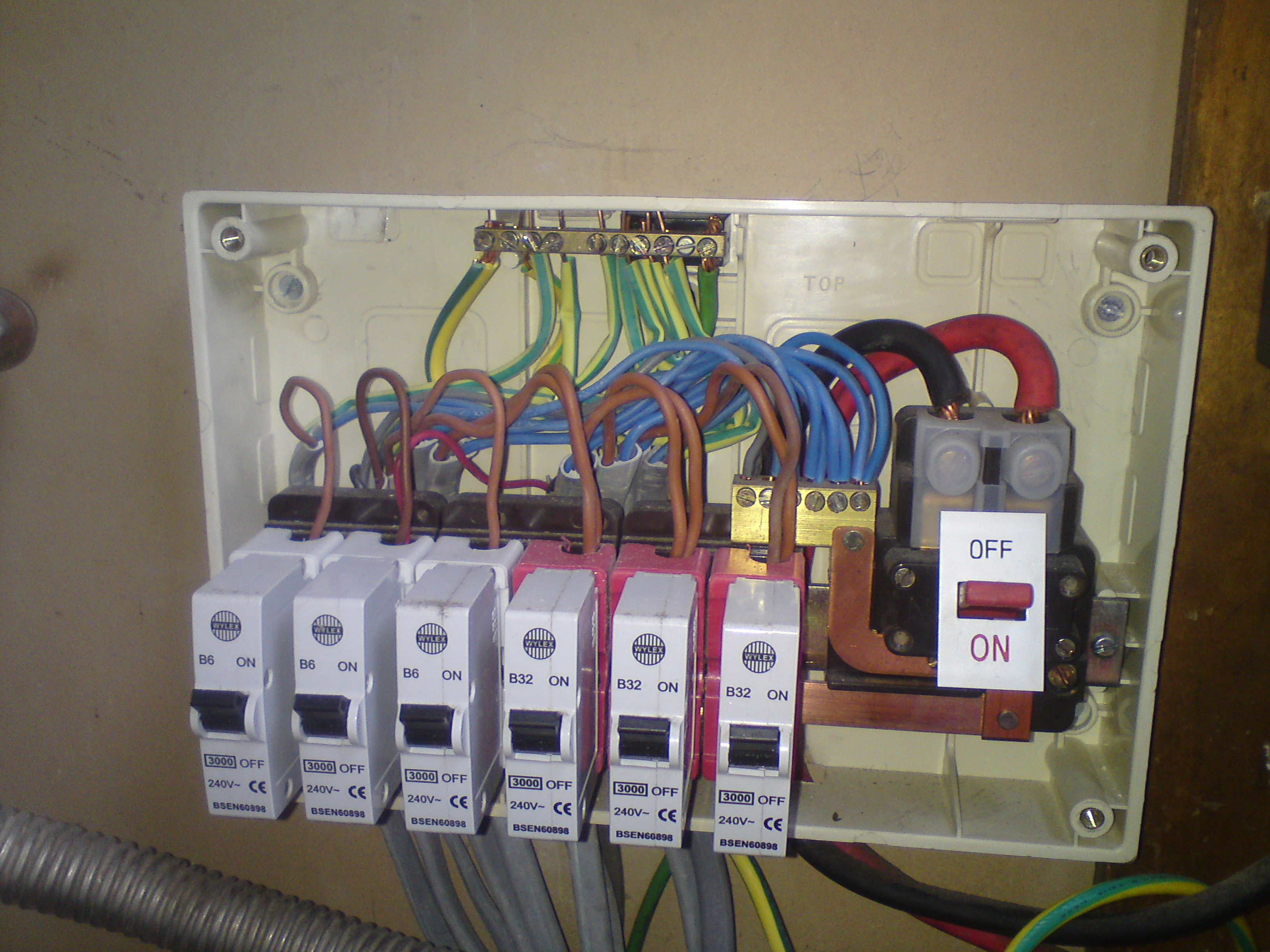 Electrical Test And Inspection Dangerous Wiring Domestic Fixed Tests Neat
