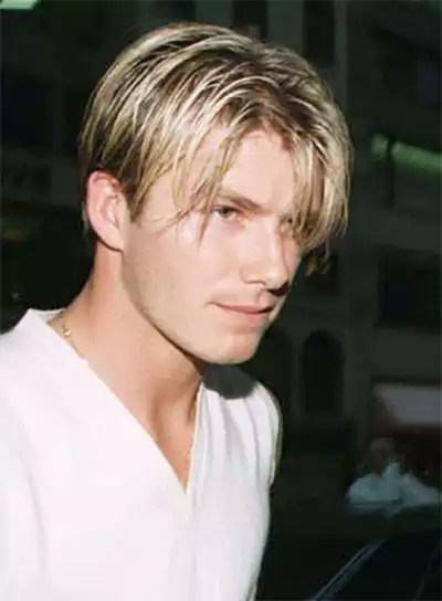 David Beckham's Best Hairstyles The Complete Collection NiceHair