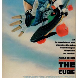 Poster ad for Gleaming the Cube.