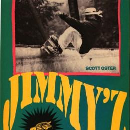 Scott Oster Jimmy'z ad.