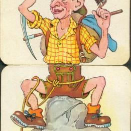 vintage body spiltter cards
