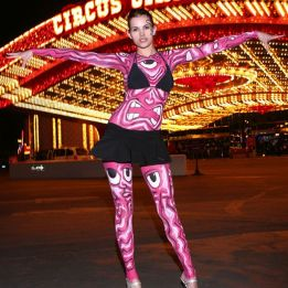 andy circus circus eyeball body paint