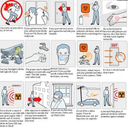 informational info life hacks safety menu survival (6)