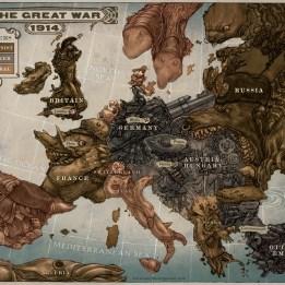 informational info life hacks world war one map (14)
