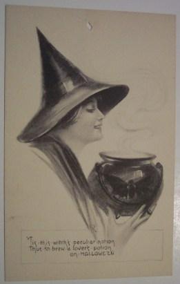 vintage halloween paper scrap (8)