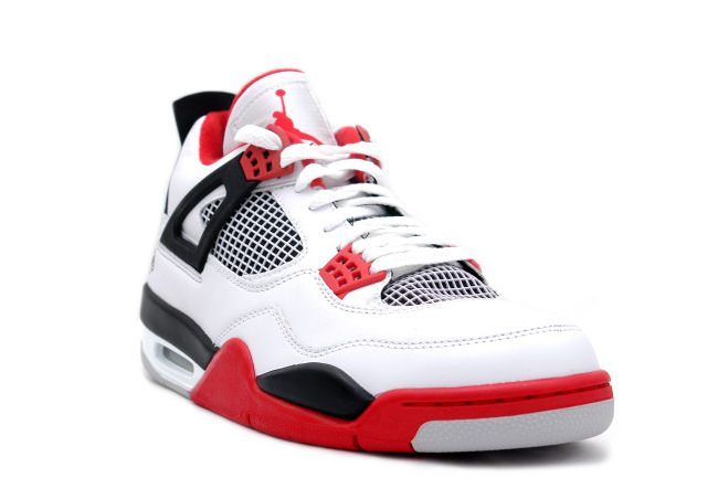 bb1aa710609 Air Jordan 4 Fire Red