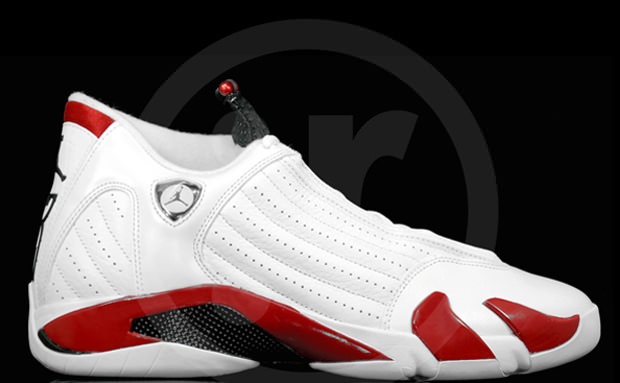 Air Jordan 14 White Sport Red-Black New Photos  6882e6f54