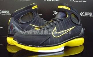 7be4b7051df3 Nike Zoom Huarache 2k4 Black Varsity Maize