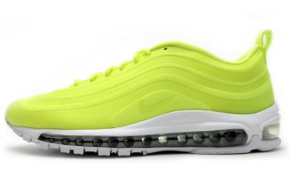 super popular 33a27 3c00c Nike Air Max 97 CVS Volt Metallic Silver