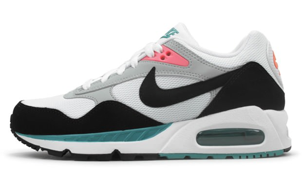 detailed look 611f5 0fdcc Nike WMNS Air Max Sunrise White New Green-Bright Mango