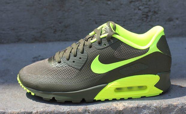 finest selection 075d2 122d2 Nike Air Max 90 Hyperfuse Cargo Khaki Volt ...