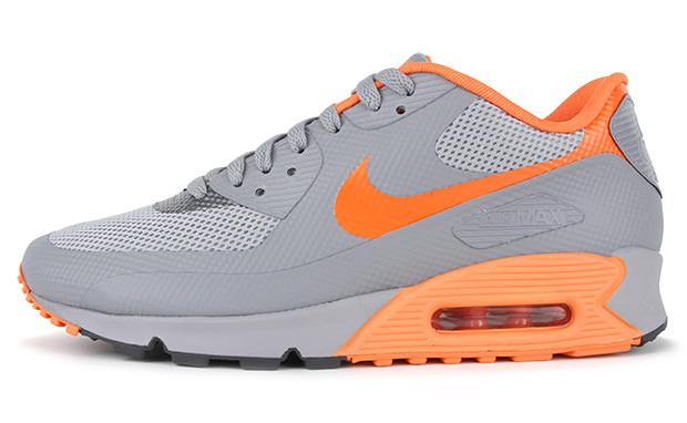 nike air max 90 hyperfuse stealth total orange dark grey