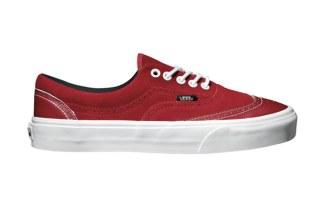 Vans Era Wingtip Fall Red 36b0ee4a1