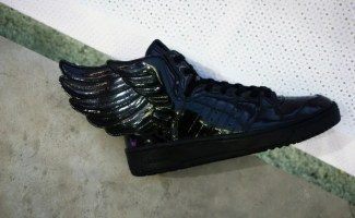"Jeremy Scott x adidas JS Wings ""Black Patent"""