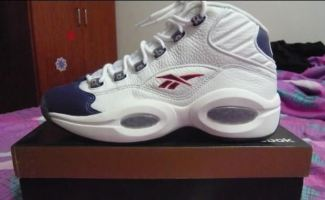 Reebok Question White/Navy-Red