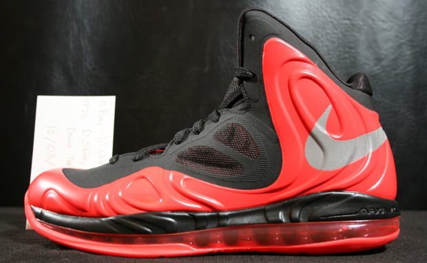 new arrival 22acb b3980 Nike Air Max Hyperposite Black Red
