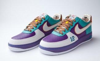 Nike Air Force 1 Bespoke ?John Stockton? By LayupShot