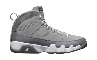 separation shoes fd9e8 64b5c Air Jordan 9 Cool Grey | Nice Kicks