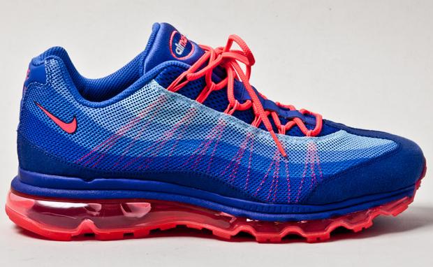 Nike Air Max 95 Dynamic Flywire BlueSolar Red | Nice Kicks