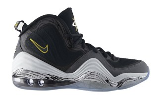 """fa8a8a62063 Nike Air Penny V """"Tour Yellow"""" Available Now"""