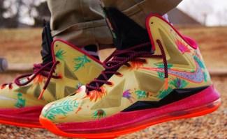 "Nike LeBron X ""LeBronold Palmer"" Custom d006ce70d502"
