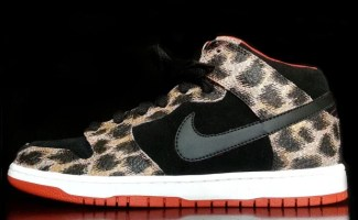 "Nike Dunk Mid ""Ocelot Safari"" Custom"