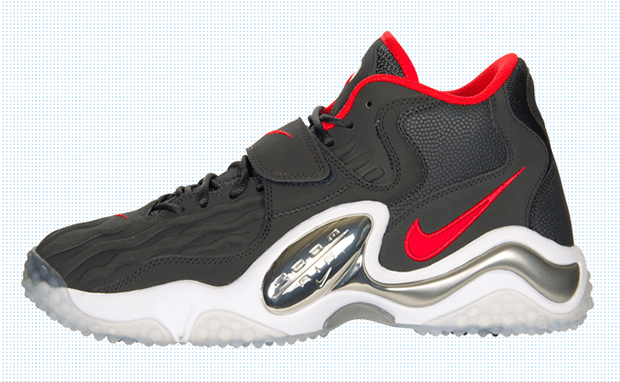 outlet store e163d 63a56 Nike Air Zoom Turf Jet  97 Black Red-White