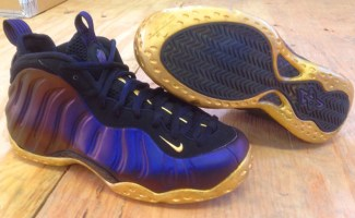 """check out 91213 98104 Nike Air Foamposite One """"Baltimore Ravens"""" Custom"""