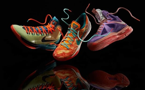 """3142cbe63134 Nike Basketball """"Extraterrestrial"""" Collection Another Look. Feb 13"""