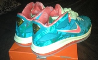 "uk availability 6dbd6 545f6 Nike LeBron 9 Low ""LeBronold Palmer Reverse"" Sample"