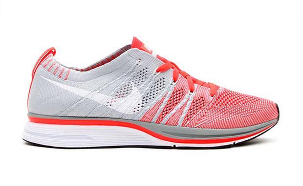 ca7b0b2932ef Nike Flyknit Trainer+ Bright Crimson White