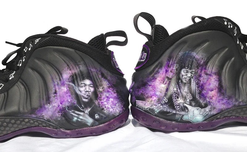 "hot sale online cb616 bc1f1 Nike Air Foamposite One ""Purple Haze"" Custom"