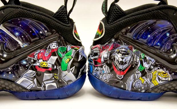 """competitive price e71f1 f4c49 Nike Air Foamposite Pro """"Voltron"""" Custom"""