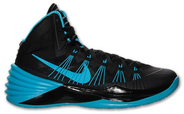 Nike Hyperdunk 2013 Black/Gamma Blue