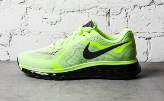 Nike Air Max 2014 Black Barely Volt