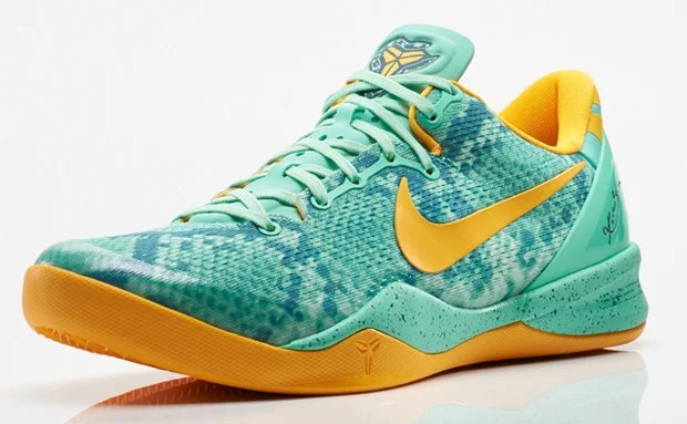 "Nike Kobe 8 ""Green Glow"" Official Images"