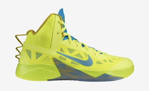 regard détaillé 2e333 5873d Nike Zoom Hyperfuse 2013 Volt/Vivid Blue   Nice Kicks
