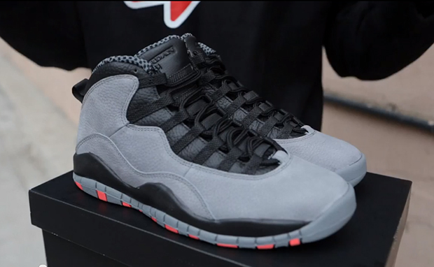 premium selection c0b2b 26d26 Air Jordan 10 Cool Grey Infrared Unboxing