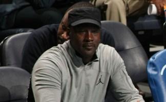 Michael Jordan Wears Unreleased Air Jordan 13 PE